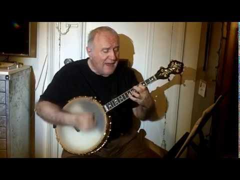 """Potato Head Blues"" (with my original words) Eddy Davis Tenor Banjo"