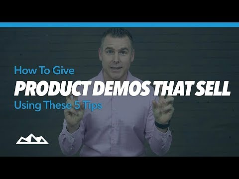 How To Give Product Demos That Sell Using These 5 Tips | Dan Martell