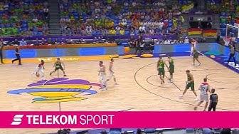 Deutschland - Litauen | Gruppenphase EuroBasket 2017 | Telekom Sport