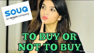 TO BUY OR NOT TO BUY FROM SOUQ.COM | HONEST REVIEW | SHUBZZZ VLOGS thumbnail