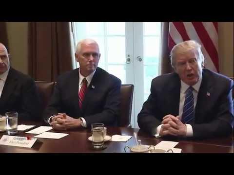Pertemuan Antara Trump dan Najib di White House