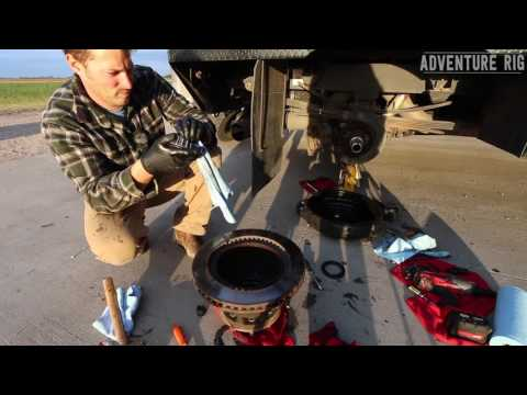 How-To Replace the Rear Hub Oil Seal on Dodge Ram