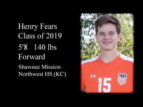 Henry Fears Class of 2019 Soccer Highlight video
