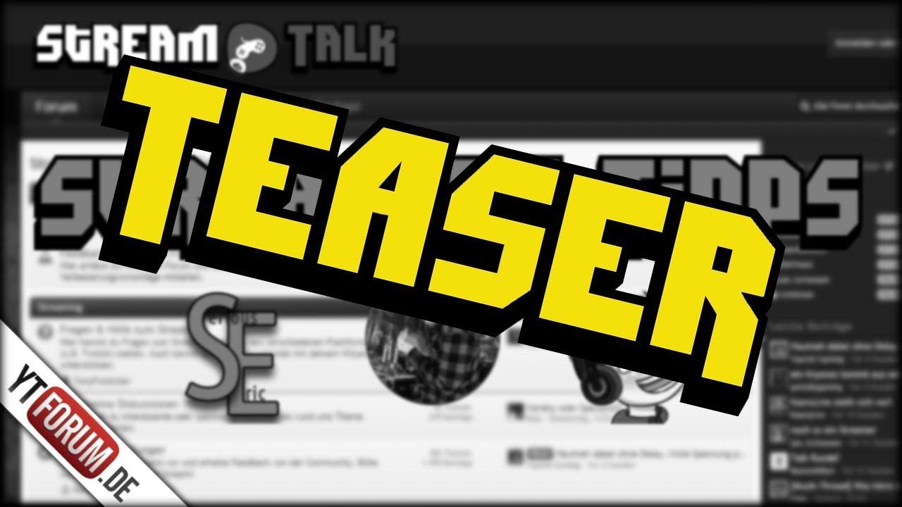 TEASER: Streaming Tipps | StreamTalk Kooperation - YouTube