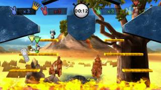 Raving rabbids travel in time - 8bit retro