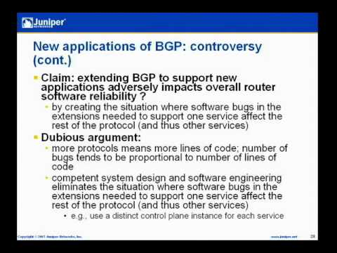 BGP at 18: Lessons In Protocol Design