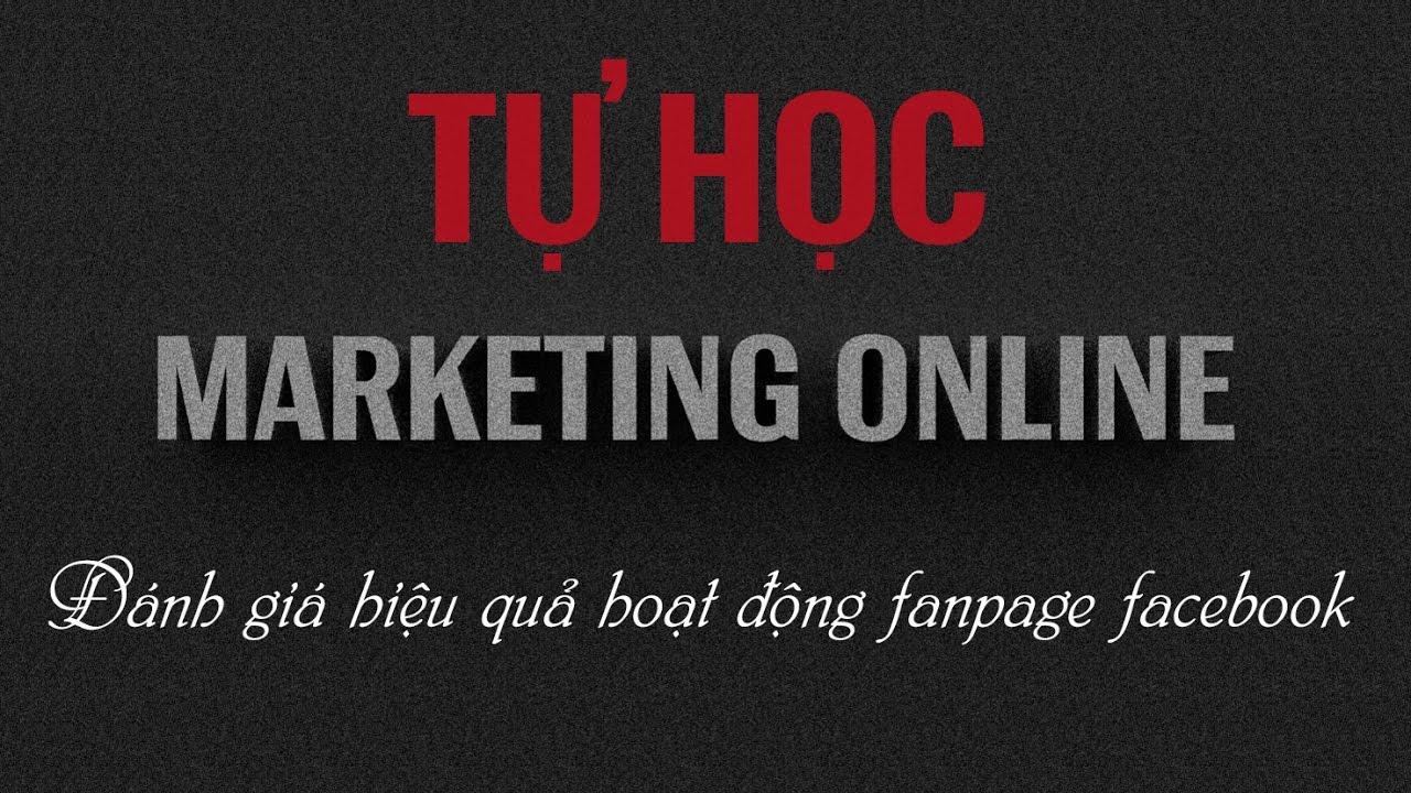 Facebook Marketing Online – Đánh giá hiệu quả các hoạt động quảng cáo của fanpage facebook