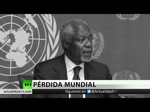 Fallece Kofi Annan, exsecretario de la ONU y premio Nobel de la Paz