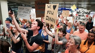 Ilhan Omar arrives home to hero's welcome