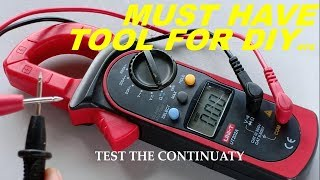 How to Use the CLAMP AMMETER /  MULTI METER