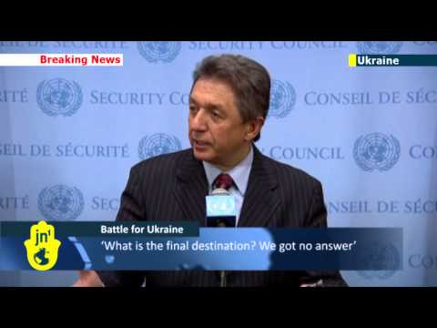 Ukraine envoy to UN: Russian forces have now invaded mainland Ukraine