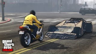 AWESOME GTA 5 STUNTS & FAILS - BEST MOMENTS in GTA V!