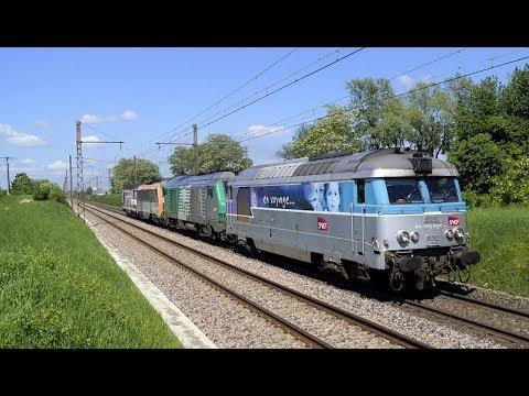 Des trains en Côte-d'Or - Mai 2018