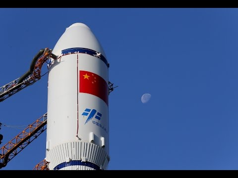 China launches first cargo spacecraft Tianzhou-1 天舟一号发射升空