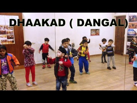 Dhaakad - Dangal | Aamir Khan | kids dance...