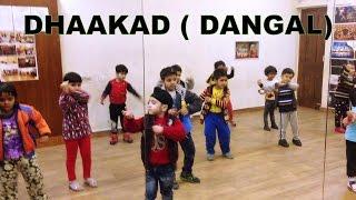 Dhaakad - Dangal | Aamir Khan | kids dance Choreography | DEEPAK TULSYAN