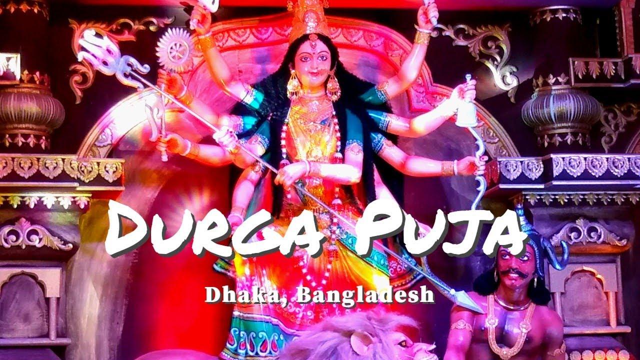 খামারবাড়ি দুর্গাপূজা মণ্ডপ, Durga Puja Celebration in Farmgate, Dhaka, Bangladesh, Durga Puja 2019