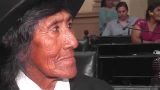 Video: El Senado homenajeó a Eulogia Tapia
