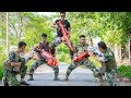 LTT Game Nerf War : Winter Warriors SEAL X Nerf Guns Fight Criminal Group Legendary Police