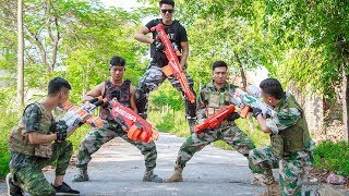 LTT Game Nerf War : Winter Warriors SEAL X Nerf Guns Fight Criminal Group Legendary Police