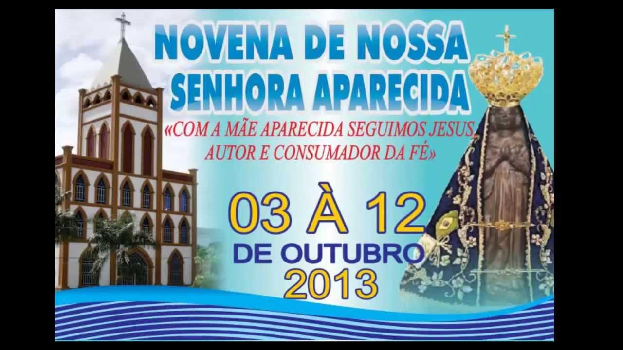 Novena De Nossa Senhora Aparecida: Convite Para Tradicional Novena Em Louvor A Nossa Senhora