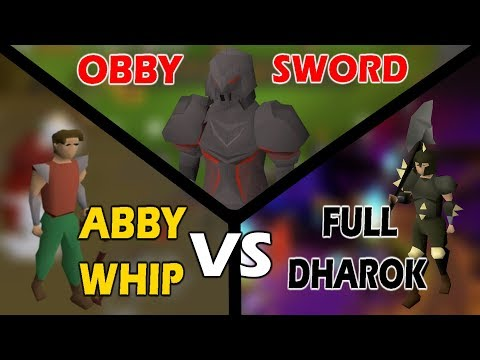WHIP IS BETTER THAN DHAROK? | NMZ Attack Training Comparison