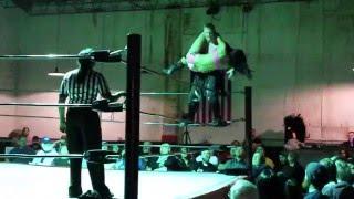 Elevated Fallaway Slam [Fancam] (Intergender, Mixed Wrestling)