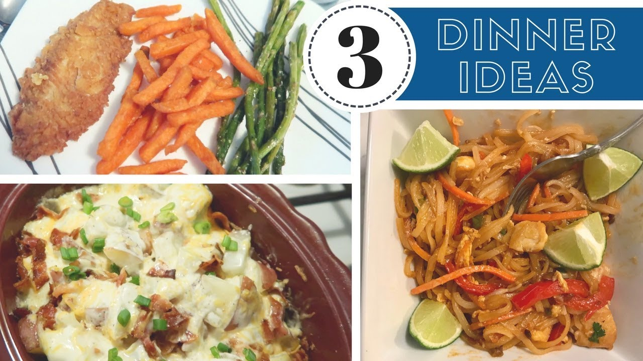 3 simple meal ideas | dinner ideas for family of four | lynette
