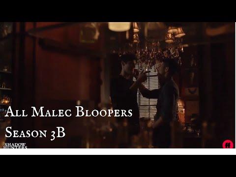 All Malec Bloopers Season 3B | Shadowhunters