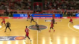 Giessen 46ers - Mitteldeutscher BC - Larry Gordon #23 red - Playing Time Edit