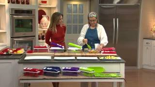 Genius Nicer Dicer Plus 10-piece Multi-Chopper with Stacey Stauffer