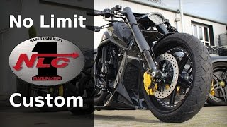 harley davidson v rod al carbon by no limit custom   motorcycle muscle custom