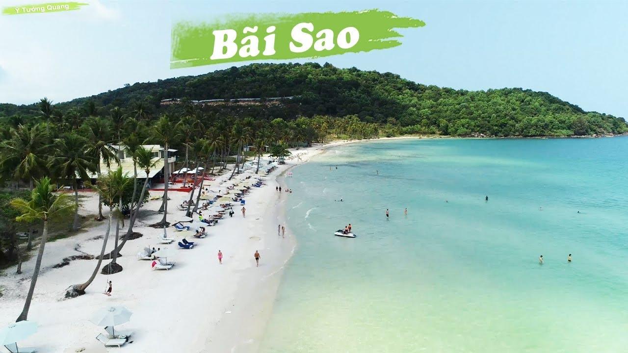 Review Bãi Sao Phú Quốc 2019, Sao beach, Phu Quoc Island, Flycam ...