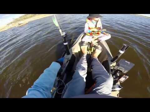 Leslie Dam Kayak Fishing