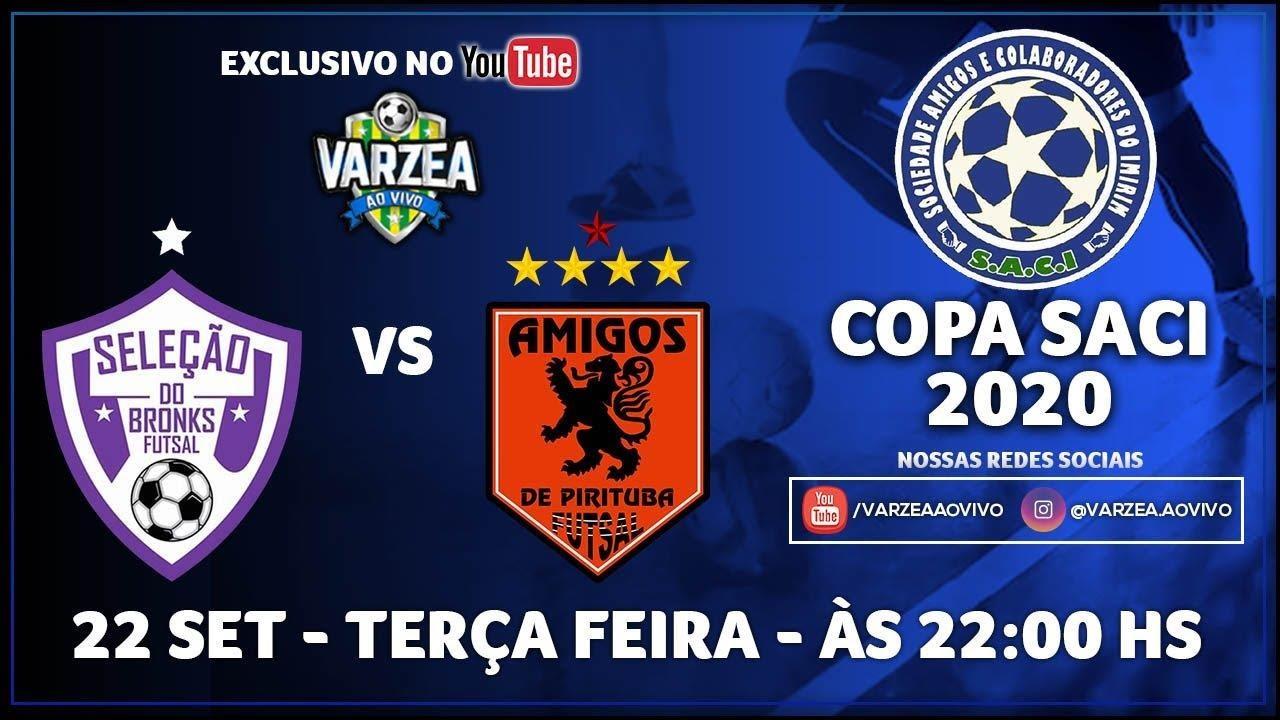 Seleção do Bronks FS x Amigos de Pirituba FS - Copa SACI 2020