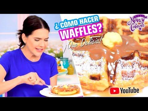 Cómo hacer Waffles Perfectos