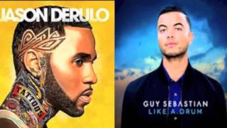 Jason Derulo Trumpets vs Guy Sebastian Like a drum remix