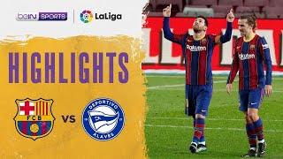 Barcelona 5-1 Alaves | LaLiga 20/21 Match Highlights