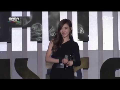 [20141203] Tiffany _ English Talk Cut [2014 MAMA][Live][HD]