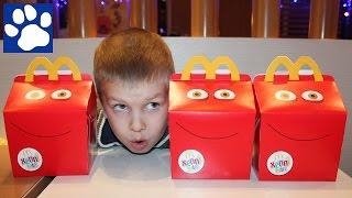 Снупи И Мелочь Пузатая В Макдональдс Хэппи Мил | Snoopy And Charlie Brown Happy Meal Toys Mcdonald'S