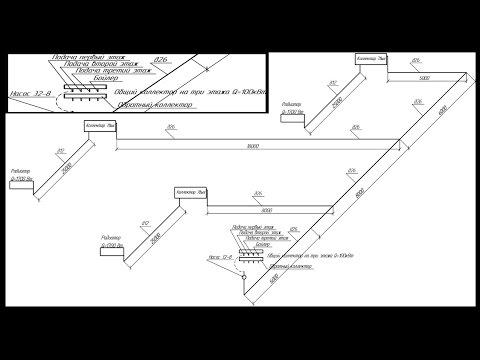 Практический урок гидравлического расчета системы отопления