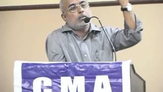 calicut management association speech by mr rameshan paleri