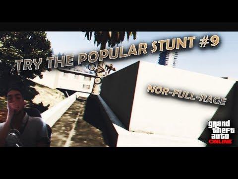 GTA V BMX - Try The Popular Stunt #9 : Nor-Full-Rage