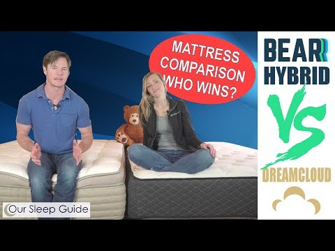 New! Bear Hybrid vs Dreamcloud Hybrid Mattress Review 2019: Which Hybrid Bed is Best?