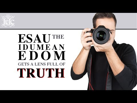Alt-Right Christian Apologetic Finds Out He Is ESAU-IDUMEAN-EDOM!!!