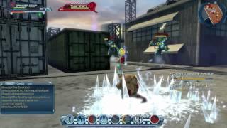 Jogando um pouco de DC Universe Online video 1 de 11 - Jogatina sem compromisso