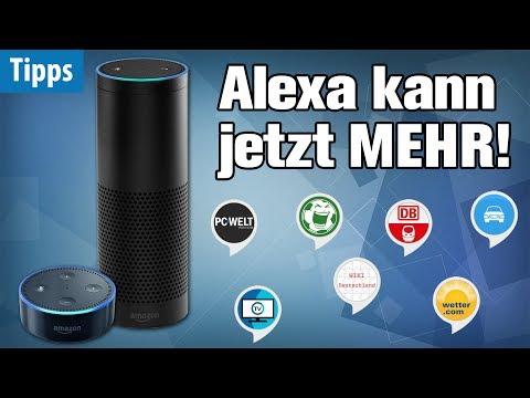 Alexa wird ÜBERMÄCHTIG - mit diesen Gratis-Skills!   Die 10 besten Apps für Alexa auf Amazon Echo