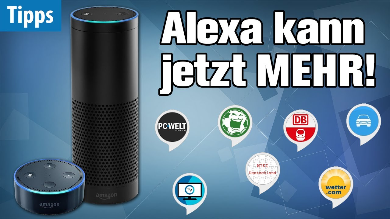 alexa wird berm chtig mit diesen gratis skills die. Black Bedroom Furniture Sets. Home Design Ideas