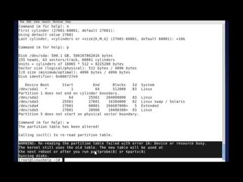 how to partition hard drive command prompt windows