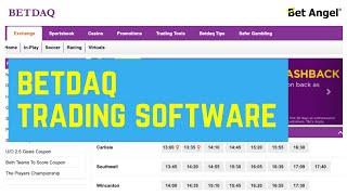 Bet Angel for Betdaq - Betdaq trading software